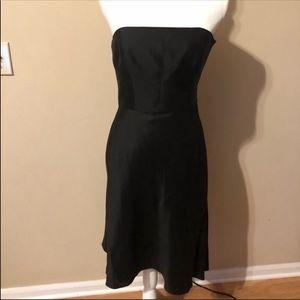 ⚡️Ann Taylor Silk Strapless Dress